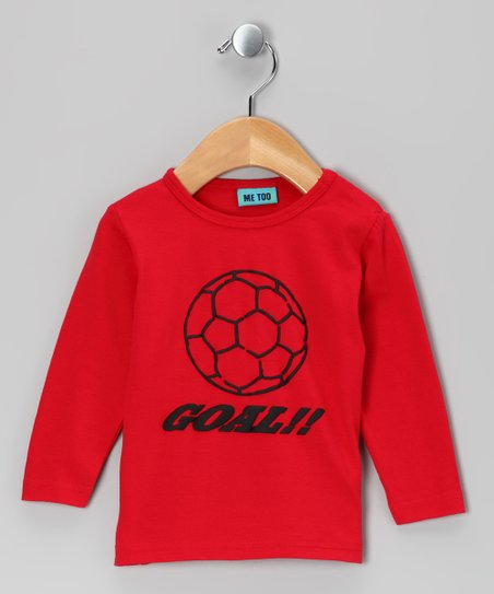Red Soccer Tee - Infant, Toddler &amp; Boys