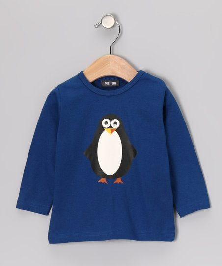 Blue Gafar Penguin Tee - Infant