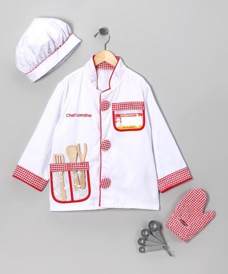 Personalized Chef Costume Set
