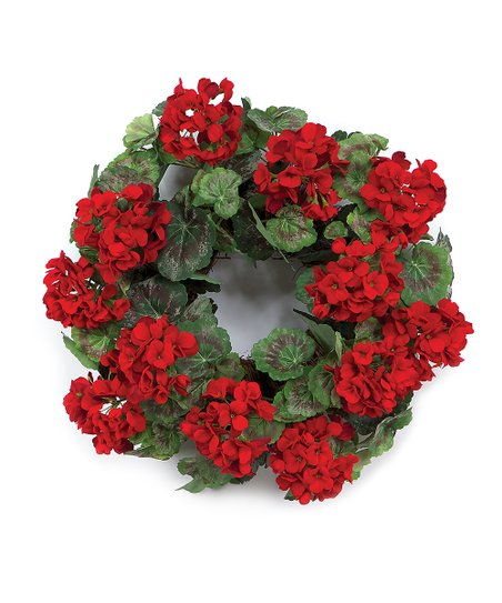 Geranium Wreath
