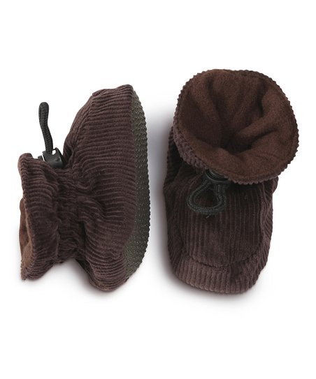 Chocolate Corduroy Slipper