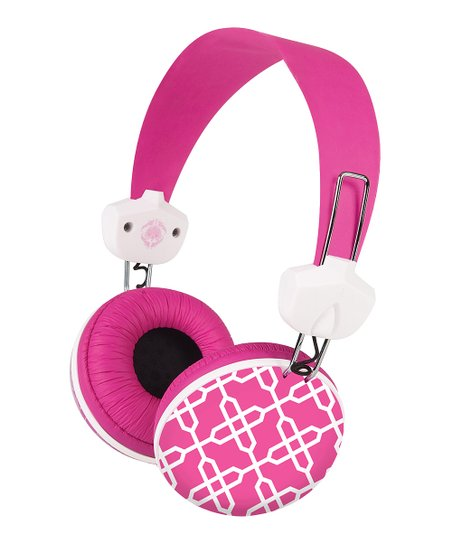 Key Largo Hot Pink Headphones