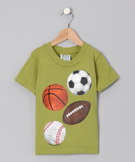 Tea Green Four Sports Tee - Toddler & Boys