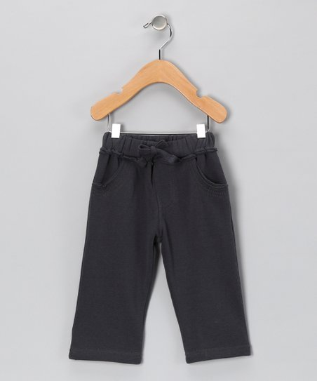 Charcoal Stitch Pants - Infant, Toddler & Boys