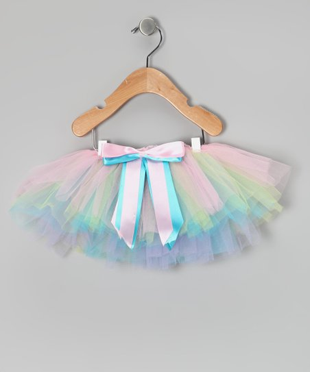 Pastel Rainbow Tutu - Infant & Toddler