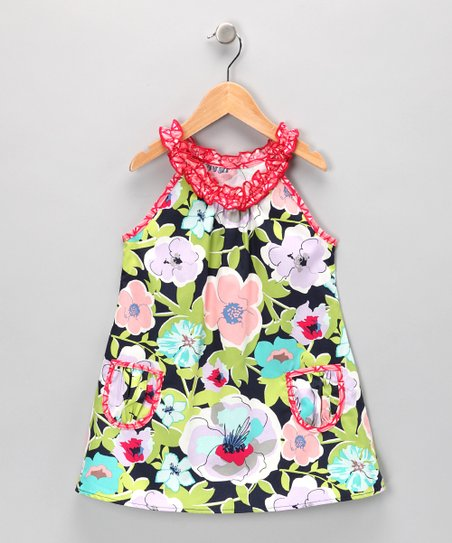 Floral Charlotte Tunic - Infant, Toddler & Girls