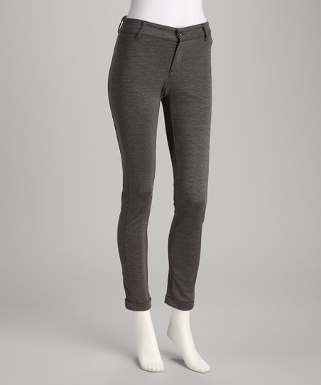 Gray Arielle Skinny Pants