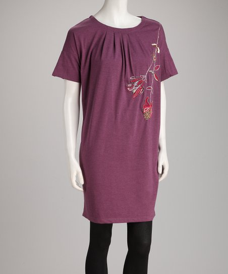 Purple Selma Tunic