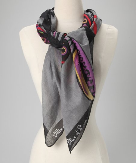 Black Griffin Scarf