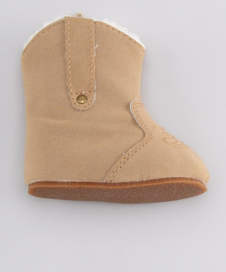 Tan Stitch Potato Boot
