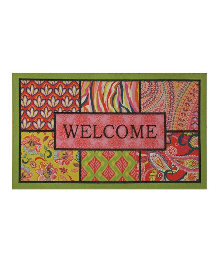 Bohemian 'Welcome' Doormat