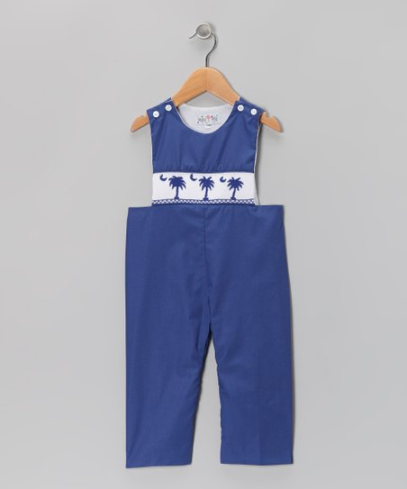 Navy South Carolina Overalls - Infant, Toddler & Boys