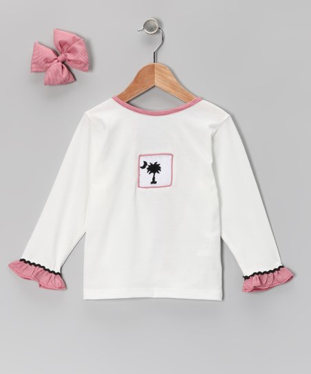 Red Gingham Tee & Bow - Infant & Girls