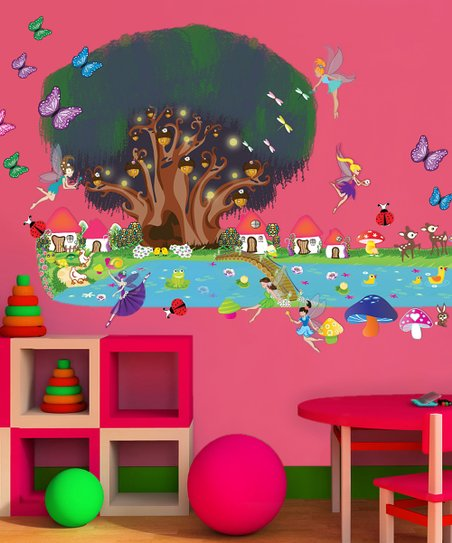 Fairy Interactive Wall Decal Set