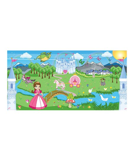 Mona MELisa Designs Pink Princess Girl Mural