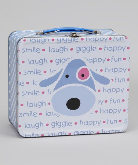 Blue Dog Lunch Box