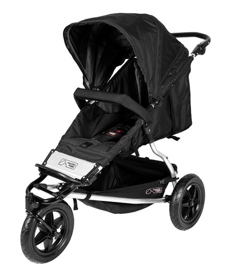 Mountain Buggy +One Black Buggy, Second Seat & Cocoon Set