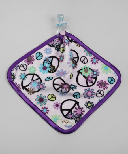 Lavender & Purple Peace Flower Lovey