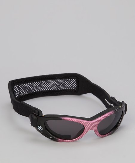 Pink & Black Xtreme Sunglasses & Strap - Toddler & Kids