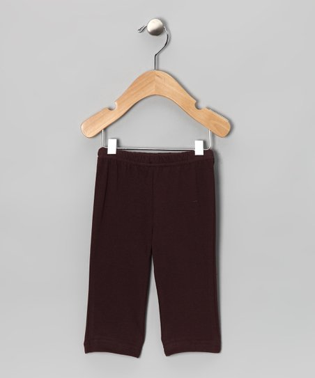 Brown Raccoon Organic Pants - Infant & Toddler