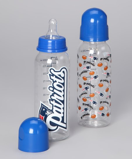 New England Patriots 9-Oz. Bottle Set