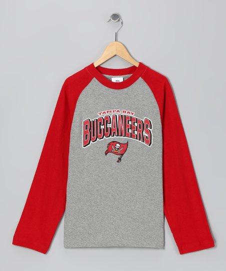 Tampa Bay Buccaneers Raglan Tee – Boys