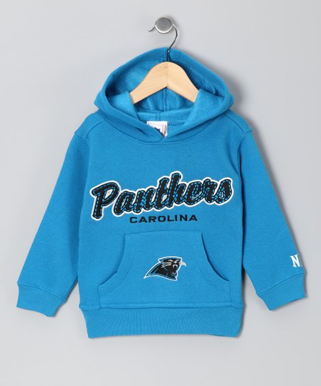 Blue Carolina Panthers Hoodie - Toddler