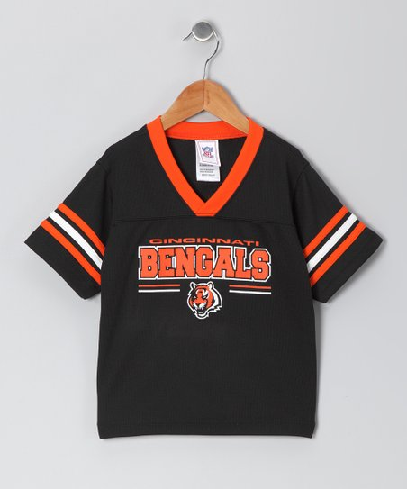 Black & Orange Cincinnati Bengals Jersey - Infant & Toddler