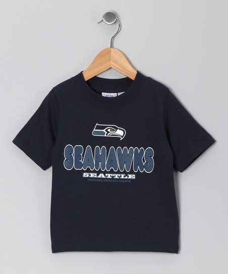 Navy Seattle Seahawks Tee - Toddler