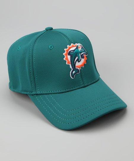 Teal Miami Dolphins Performance Baseball Cap - Kids