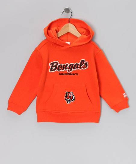 Orange Cincinnati Bengals Hoodie - Toddler
