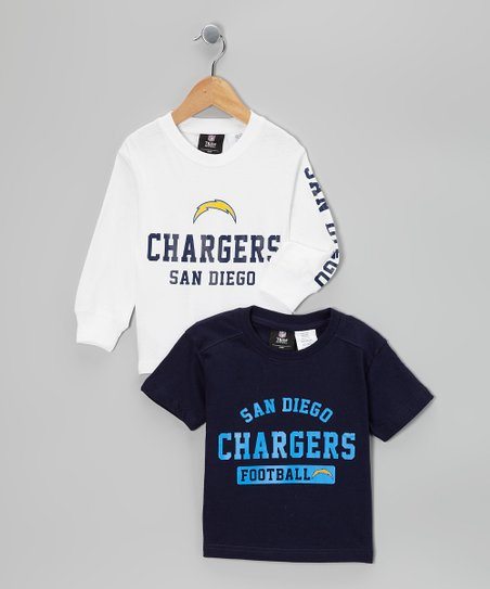 San Diego Chargers Tee Set - Kids