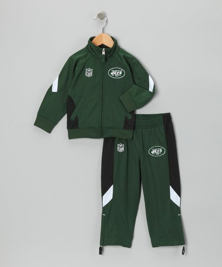 New York Jets Track Jacket & Pants - Kids