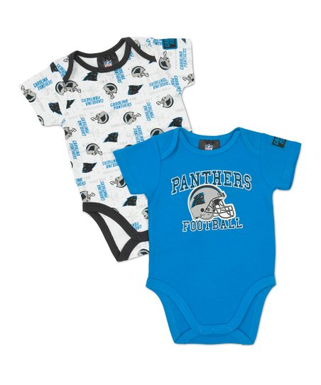 Blue Carolina Panthers Bodysuit Set - Infant