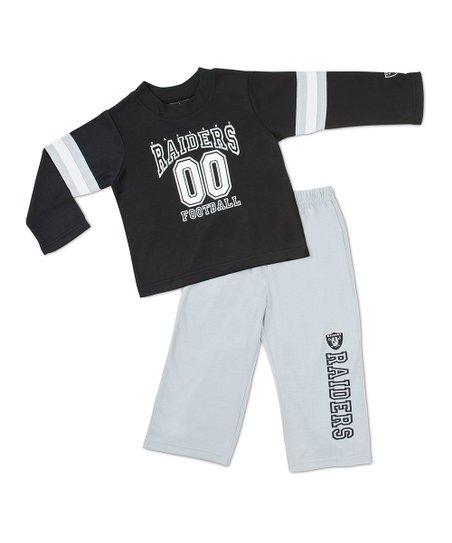 Oakland Raiders Tee & Pants - Toddler & Kids