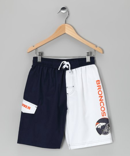 Denver Broncos Swim Trunks - Kids