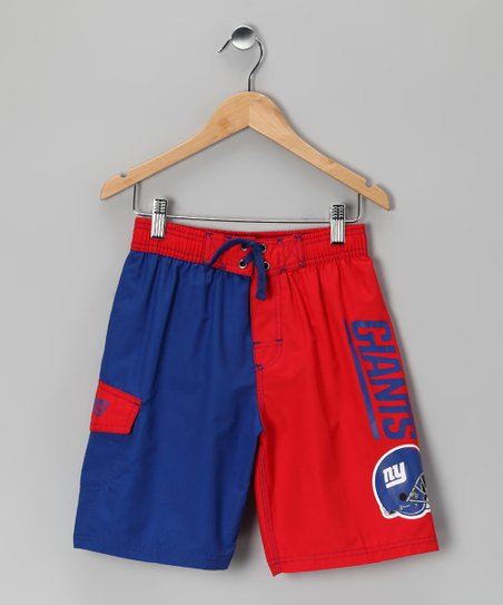 New York Giants Swim Trunks - Kids