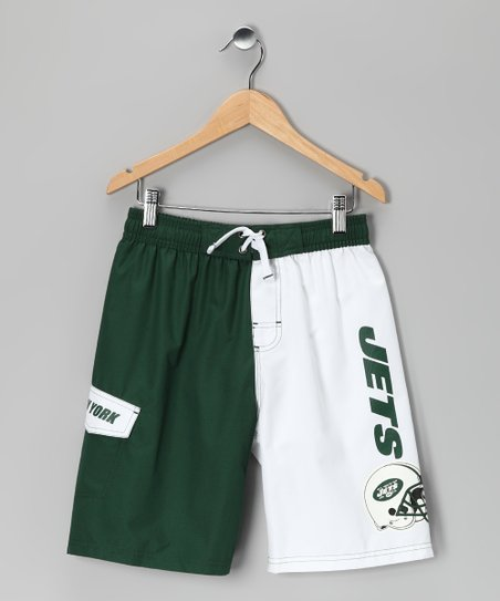 New York Jets Swim Trunks - Kids