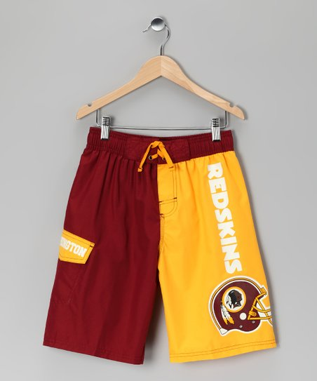 Washington Redskins Swim Trunks - Kids