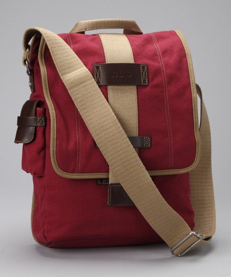 Red Laptop Messenger Bag