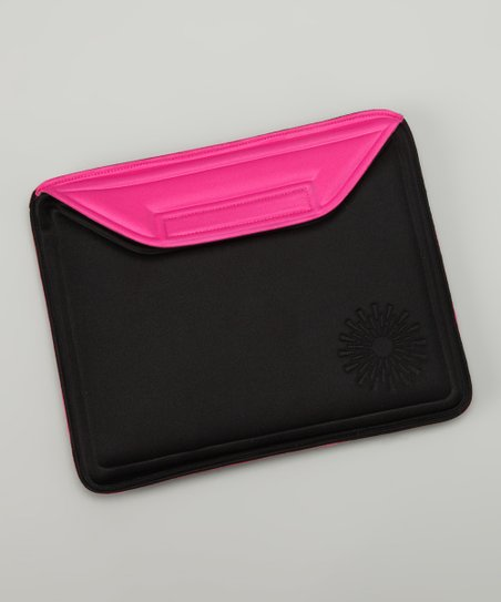 Black & Pink Molded Tablet Sleeve