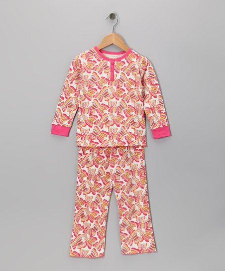 Butterfly Stella Organic Top & Bottoms - Toddler & Girls