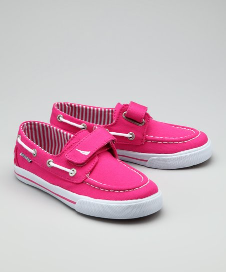 Fuchsia Little River Boat Shoe
