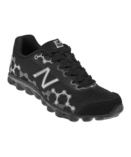 Black & Silver Grade School Minimus Ionix 3090 Running Shoe