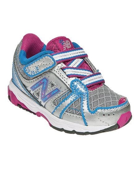 Pink & Blue KV689 Running Shoe - Girls