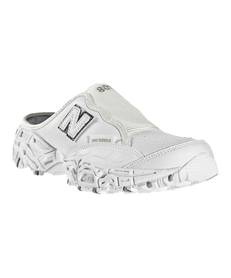 White 801 Athletic Mule - Women