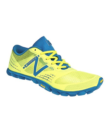 Yellow & Blue Minimus Zero Trail Running Shoe