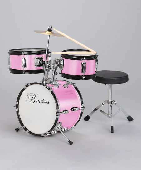 Pink Small Drum Set