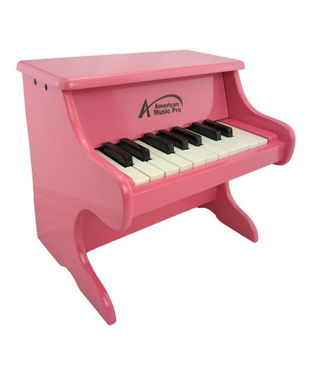 Pink 18-Key Toy Piano