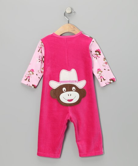 Pink Mustang Sally Playsuit - Infant
